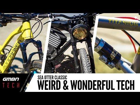 Weird And Wonderful Mountain Bike Tech | GMBN Tech At Sea Otter 2018