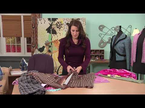 Sew a Couture Jacket: Learn How to Quilt the Lining in a Jacket