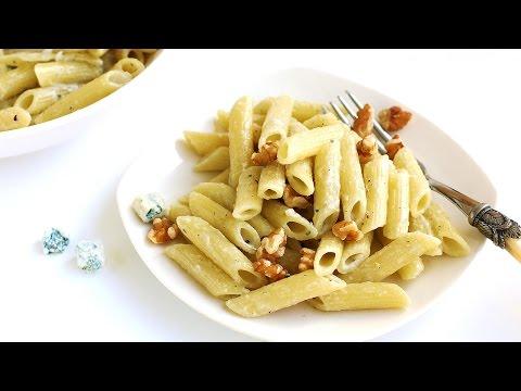 Blue Cheese Pasta Recipe 블루치즈 파스타 만들기 - 한글 자막