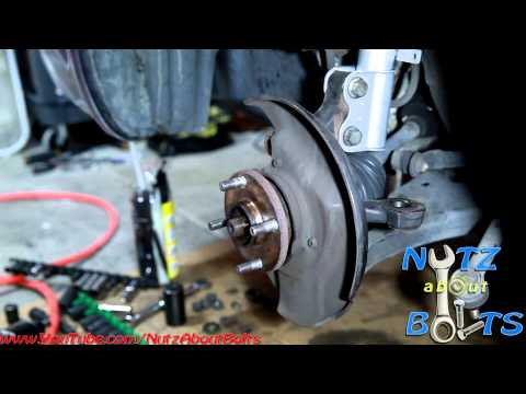 1993-2008 Toyota Corolla lower ball joint replacement