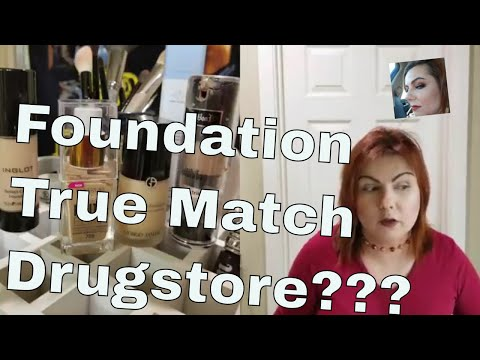 How to choose the right drugstore foundation shade!!!