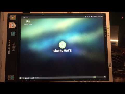 Windows 10 - Controversial UPGRADE to  UBUNTU 16 MATE - ST5111 Tablet PC install full show - 2016