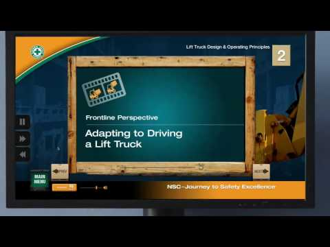 National Safety Council Forklift Training for Lift Truck Operators
