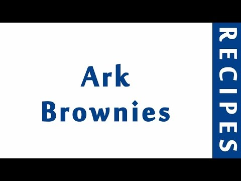 Ark Brownies | RECIPES TO LEARN | EASY RECIPES