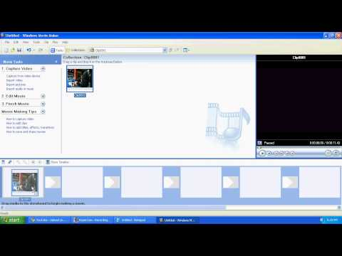 How to Convert your MSWMM to WMV ( Youtube Usable) for XP