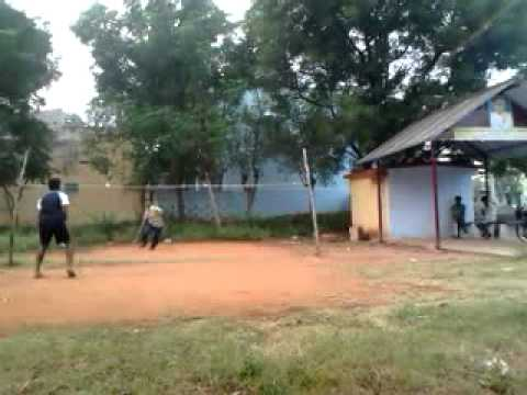 badminton in outdoor