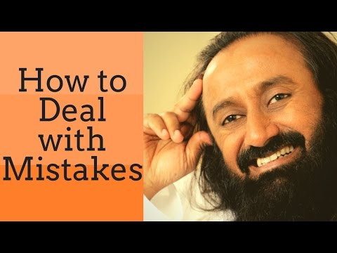 How to deal with mistakes? | How wise man takes decision | Q&A with Gurudev Sri Sri Ravi Shankar