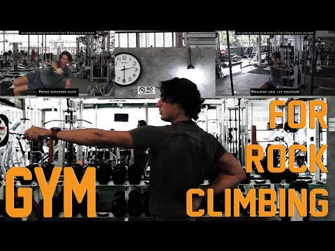 The Best Strength Exercises for Rock Climbing in a Gym 1/3