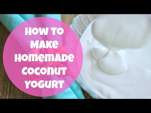 How to Make Homemade Coconut Yogurt | By: What Chelsea Eats
