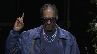 Nipsey Hussle Memorial: Watch Snoop Dogg