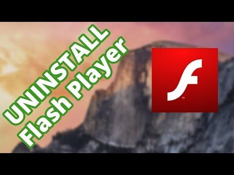 Как полностью удалить Flash Player с Mac OS X