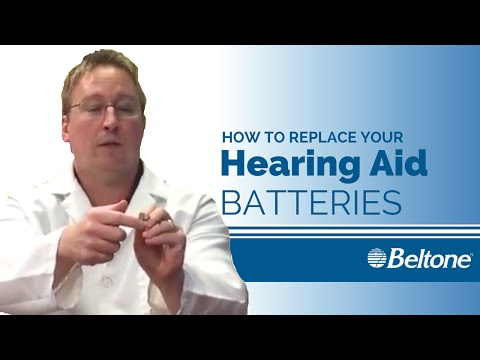 How To Change The Batteries On Your Beltone Hearing Aids
