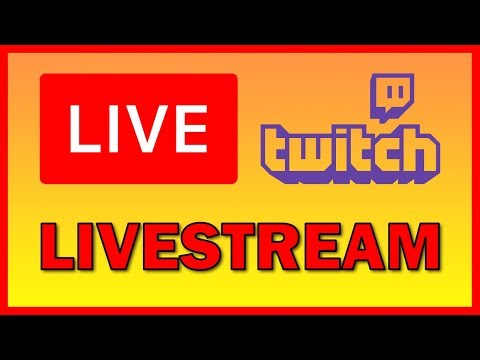 How to Live stream your games and camera on Twitch - Tutorial