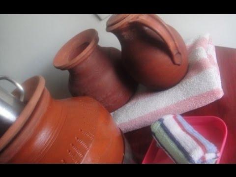 Mud Pot | Natural Cool Herbal water  | Tips for Summer | Gowri Samayalarai