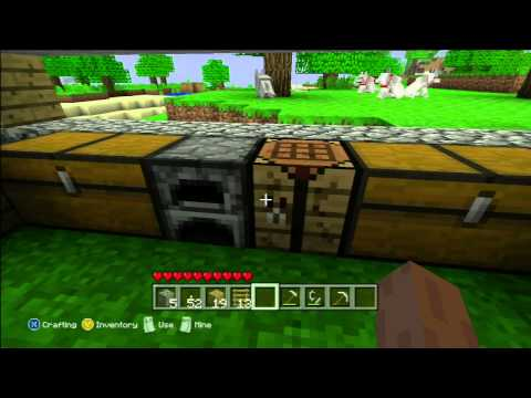 Minecraft Xbox360 Edition - Building the Guest House (HD)