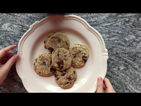 Soft Chewy Chocolate Chip Cookies - My Treat