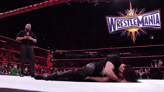 Road to WrestleMania 33: Seth Rollins vs. Triple H