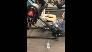 280KG squat fail