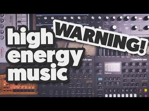 HIGH ENERGY JAM, feat. Digitakt, Digitone, Peak, TT-303 and the Microgranny. [GET READY FOR SUMMER]