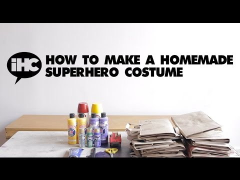 How To Make A Homemade Superhero Costume