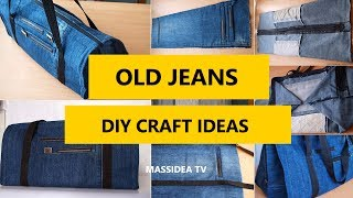 50+ Creative Craft Ideas for Old Jeans Simple DIY 2017