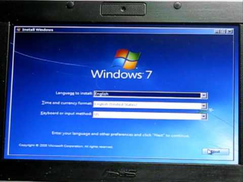 Install Windows 7 From a USB Flash Drive or USB Hard Drive
