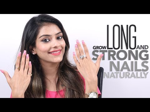 DIY Grow Long And Strong Nails Naturally | Nail Care Tutorial | Nail Care Tips