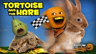 Annoying Orange - Storytime #10: The Tortoise and the Hare