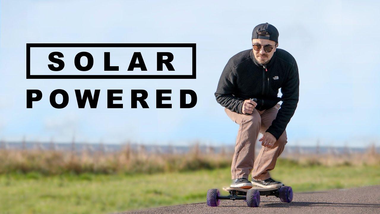 Can You Power an Electric Skateboard Using the Sun