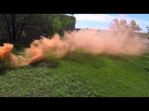 CGS Smoke Grenade Review (70,000 Cubic Feet of Smoke!) by Hustle Paintball