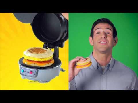 Hamilton Beach Breakfast Sandwich Maker 2015 TV Commercial