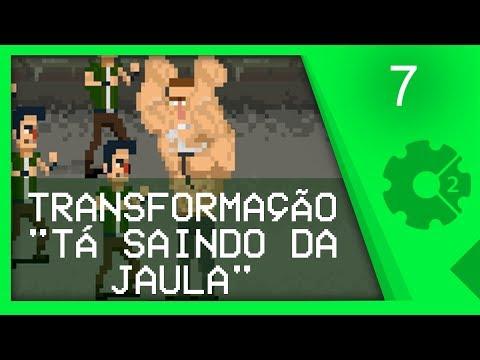 TRANSFORMAÇÃO USANDO BARRA DE PODER - Curso Beat'em Up / Brawler Aula 7 [CONSTRUCT 2]