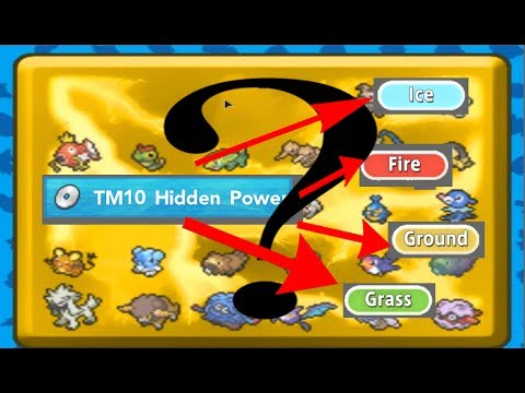 Pokémon Brick Bronze Hidden Power Guide