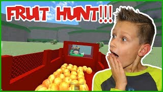 FRUIT HUNTING IN ROBLOX!