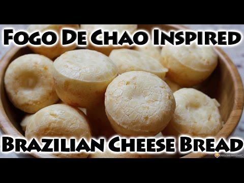 [GLUTEN-FREE] Fogo De Chao Inspired Brazilian Cheese Bread- Pao De Queijo