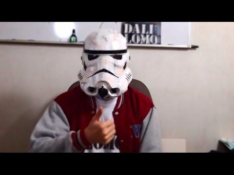 Make Stormtrooper Helmet Part 4 - Paint & Finishing // How to