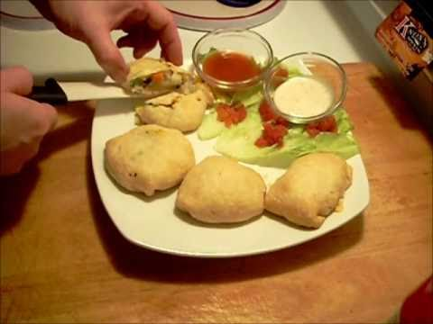 PIZZA POCKETS and VEGGIE POCKETS (homemade)