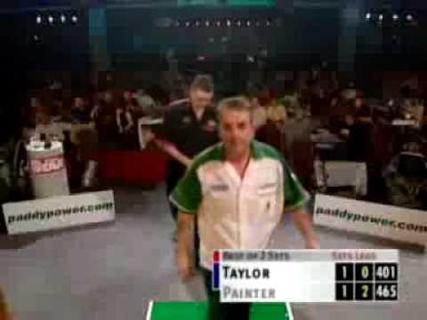 Kevin Painter beats Phil Taylor Grand Prix 2001