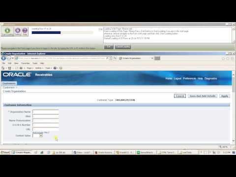 Create Customers in Oracle EBS R12 using Data Loader