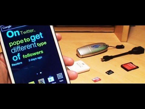 How to Increase Storage on Samsung Galaxy Note 2 II GT-N7100, GT-N7105