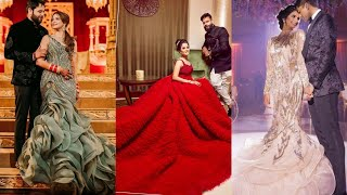 Engagement Wedding Reception Gown For Indian Brides