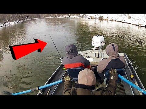 Plug Fishing Michigan Steelhead