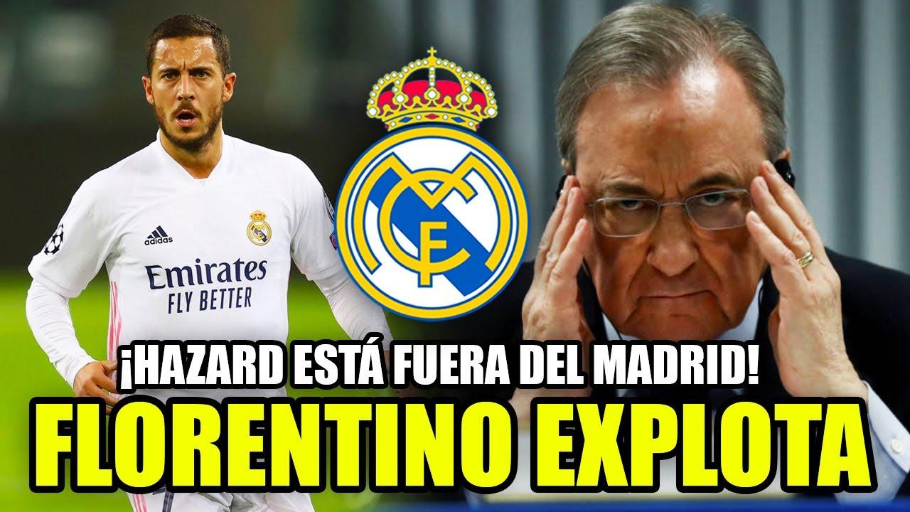FLORENTINO EXPLOTA | ¡HAZARD ESTÁ FUERA DEL MADRID! ¡YA NO AGUANTAN MÁS! | FICHAJES 21/22