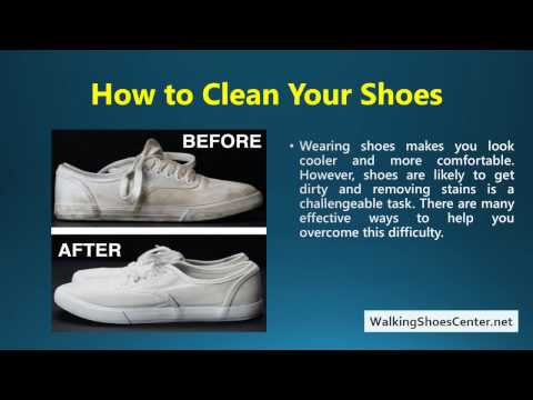 How To Clean Shoes With Baking Soda and Peroxide | Vinegar | Laundry Detergent