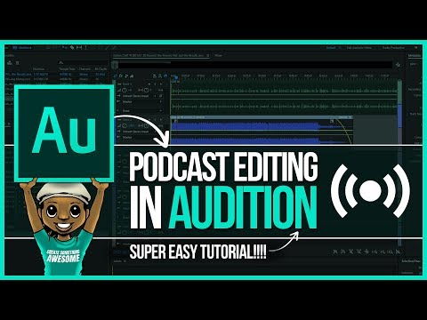 Adobe Audition Tutorial: How to Edit a Podcast in Audition