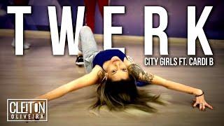 Twerk - City GirlS ft. Cardi B  ( COREOGRAFIA ) Cleiton Oliveira / IG: @CLEITONRIOSWAG