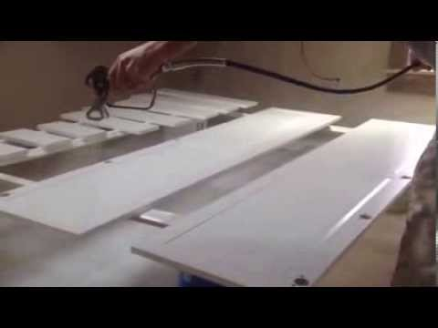 How To Airless Spray Paint Kitchen Cabinets Refinish Old Peeling Pain