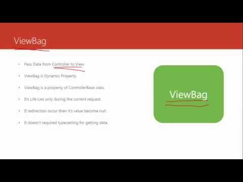 ASP.NET MVC Tutorial #5 - ViewData, ViewBag, TempData and Session