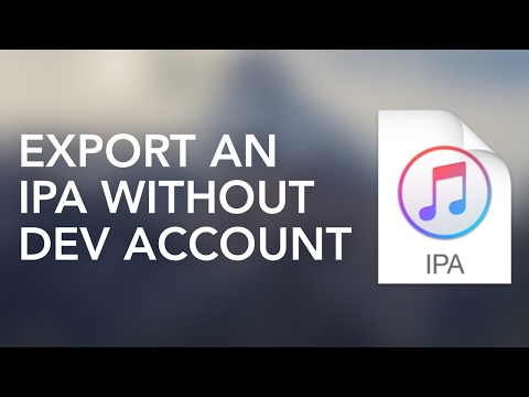 How To Make an ipa Without a Developer Account [Remade]