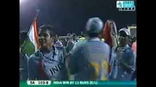 2008 U19 CRICKET WORLD CUP - WINNING CELEBRATION INDIA